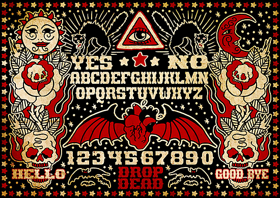 Ouija Board by chuckcarvalho