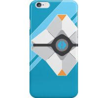 Destiny Ghost Print - Blue background iPhone Case/Skin
