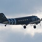 C-47 Skytrain by Steven Squizzero