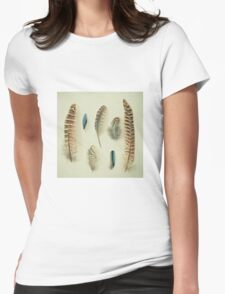 The Feather Collection Womens Fitted T-Shirt