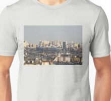 Paris rooftops from the Sacré Coeur Unisex T-Shirt