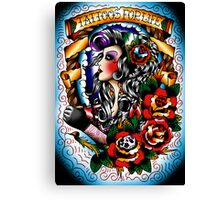 Tattoos for life Canvas Print