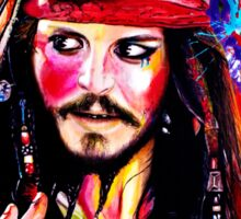 """Captain Jack Sparrow"" Sticker"