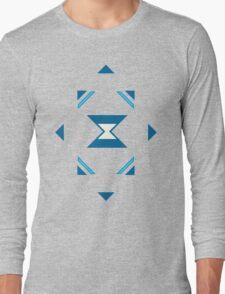 Blue Magic Crystal Long Sleeve T-Shirt