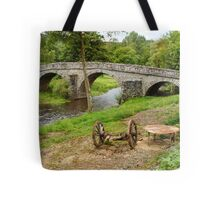 Rural France With Old Stone Arched Bridge Tote Bag