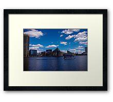 Baltimore Inner Harbor  Framed Print