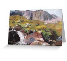 HIGHLAND BURN Greeting Card