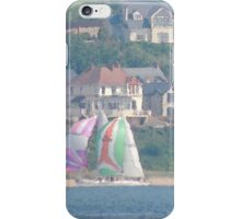 Boats in Water Colour  - Donegal - Buncrana Ireland iPhone Case/Skin