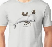 Moose Whale Unisex T-Shirt