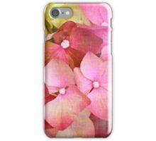 Pink Hydrangea iPhone Case/Skin