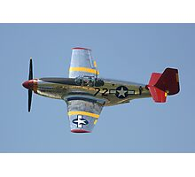 "P51-C Mustang: ""INA The Macon Belle"" Photographic Print"