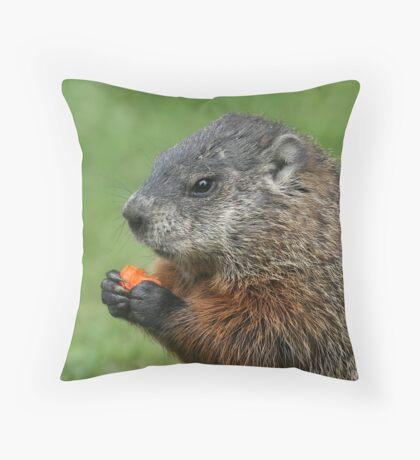 Got Carrots Throw Pillow