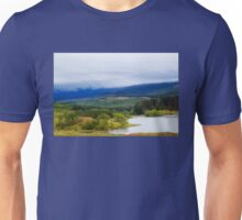 Low Clouds Over Loch Gary Unisex T-Shirt