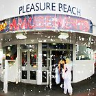 Blackpool Pleasure Beach Amusements by Alistair Parker