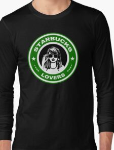 all the lonely starbucks lovers Long Sleeve T-Shirt
