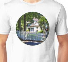 White Picket Fence Unisex T-Shirt
