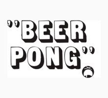 Beer Pong by woawe