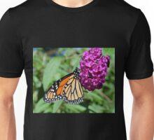 Monarch on Butterfly Bush Unisex T-Shirt