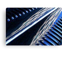 London Automobile reflection 5 Canvas Print
