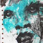 Blue Face - by Bernard Lacoque by ArtLacoque