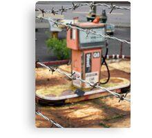 The abandoned amusement park Canvas Print