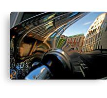 London Automobile reflection 6 Canvas Print