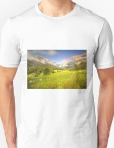 Summer meadow in the alps T-Shirt