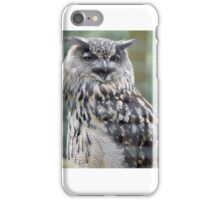 Owl eat you  iPhone Case/Skin