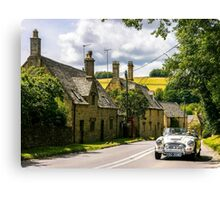 Yesteryear. The Cotswolds. Canvas Print