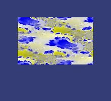 Blue and yellow abstract Unisex T-Shirt