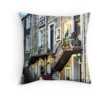 Scottish Steps Throw Pillow