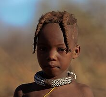 HIMBA YOUNG GIRL  by WILDLIFECOSMOS