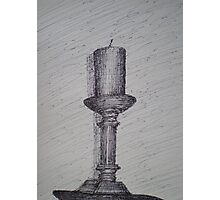 Candle Stick Photographic Print