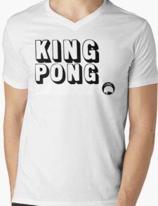 King Pong Mens V-Neck T-Shirt