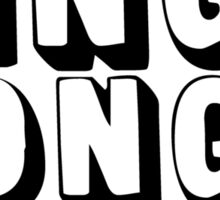 King Pong Sticker