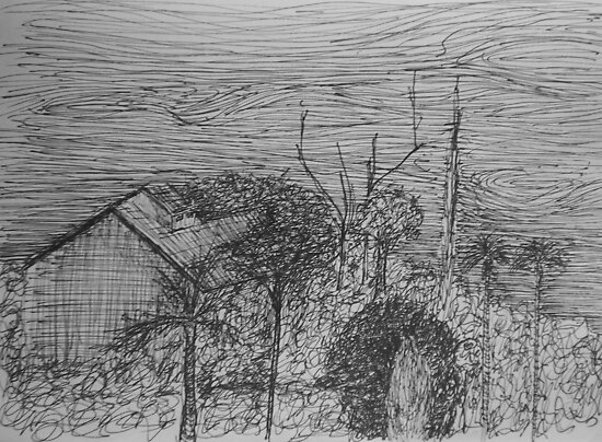 Farm House by W. H. Dietrich