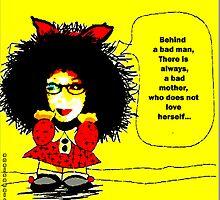 Mafalda (cartoon for the  feminist ...ultras) by anaisanais