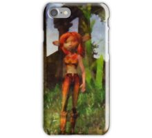 Fairy Girl by Sarah Kirk iPhone Case/Skin