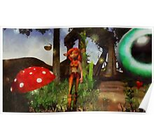 Fairy Girl by Sarah Kirk Poster