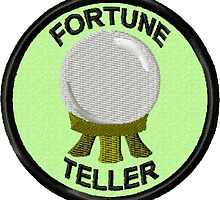 Fortune Teller Geek Merit Badge by storiedthreads