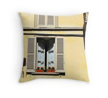 Window in Bergamo Throw Pillow