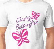 Chasing Butterflies Unisex T-Shirt