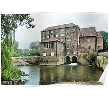 The Old Corn Mill -Stamford Bridge Poster