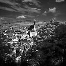 A wiew over Český Krumlov by Ethem Kelleci