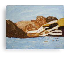 Dennis - Snowdonia Canvas Print