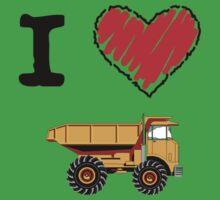 I Love Dump Trucks by Lorie Warren