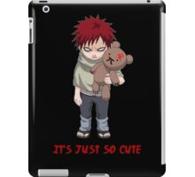It's just so cute - Gaara Teddy iPad Case/Skin