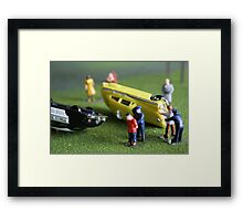 COPS DON'T PLAY Framed Print