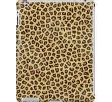 Jaguar Fur Leopard Print Pattern iPad Case/Skin