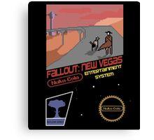 Fallout New Vegas NES Canvas Print
